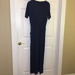 Overmal Dresses - Overmal Short Sleeved Maxi Dress